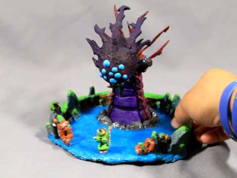 Sculpture Diorama: League of Legends Teemo and Baron Nashor - YouTube