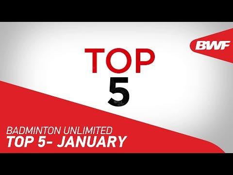 Badminton Unlimited 2020 | January - TOP 5 | BWF 2020