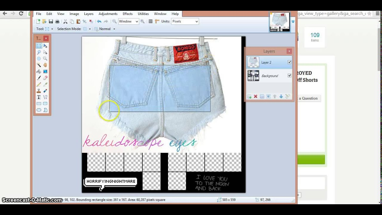 how to make shorts on roblox
