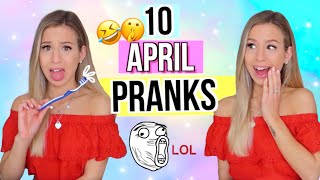 1. April Scherze leicht zum nachmachen 😆 10 Pranks zum 1. April 😅2019