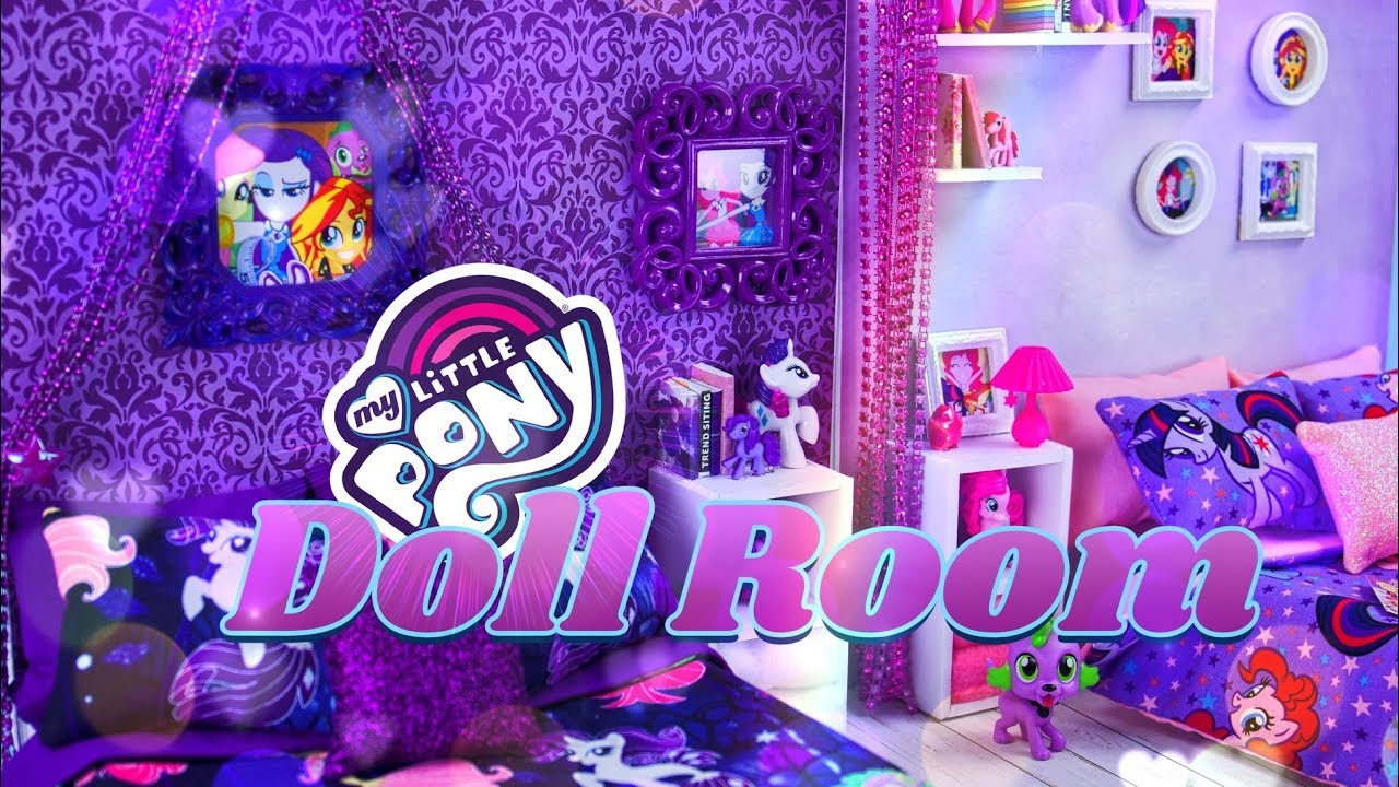 Diy How To Make My Little Pony Doll Room Easy Dollhouses