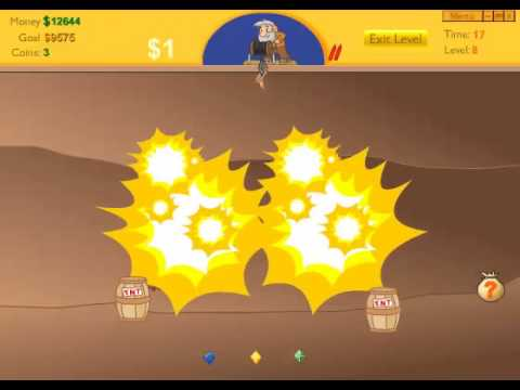 Gold Miner PC Gameplay (Reflexive Arcade)