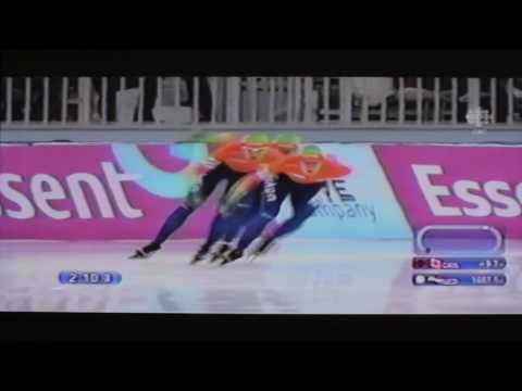 Ladies Team Pursuit Speed Skating  - Last race at World Single Distances Championships Sochi 2013