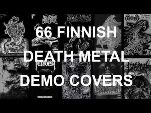 66 FINNISH DEATH METAL DEMO COVERS (Old school)