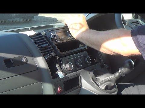 Volkswagen Transporter T5 T5.1 Facelift Dash Dashboard Auxiliaire AUX Commutateur nouveau