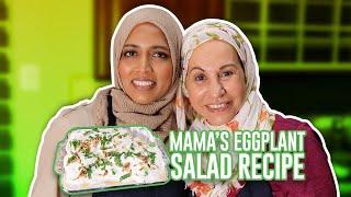How to Make a Healthy Eggplant Salad.