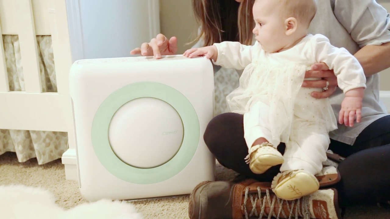 Coway Air Sound Purifier Perfect For Baby S Nursery