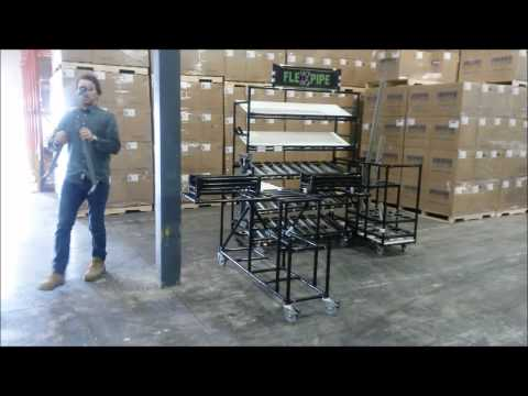 Flexpipe Crib - Modular Material Handling Solution
