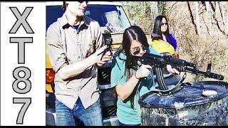 Taylor Shoots Guns: Girls Shoot Guns Part 2 - A Shooting Range Trip