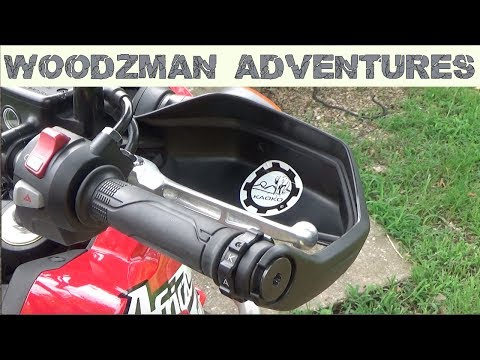 KAOKO HND310 Throttle Stabilizer Install Honda Africa Twin CRF1000L