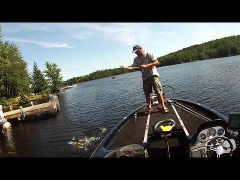 Bass fishing in nh and ma youtube for Bass fishing nh