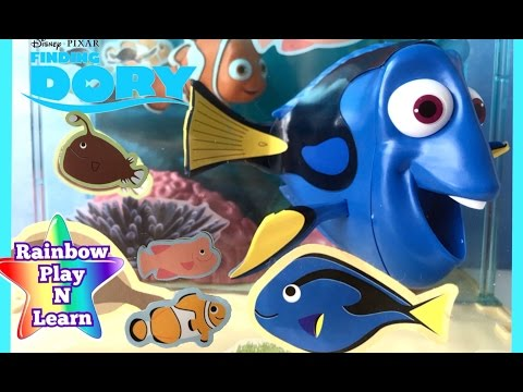Thumbnail: LEARN SEA ANIMALS NAMES & WATER ANIMALS NAMES AND SOUND FINDING DORY OCEAN VIDEO FOR KIDS TODDLER