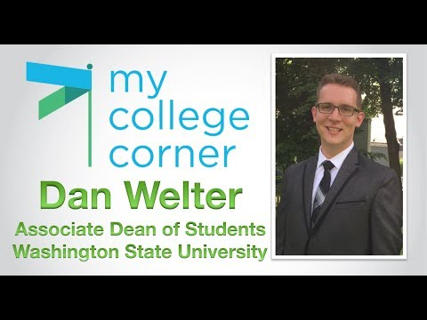 Getting ready for campus life with Dan Welter Associate Dean - WSU - #MyCollegeCorner