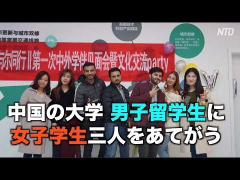 男子留学生に女子学生三人をあてがう山東大学「合法的かつ適切」|中国情報|教育