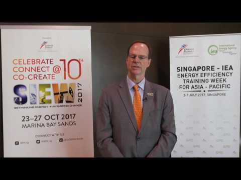 SIEW 2017: Interview with Paul Simons, Deputy Executive Director, International Energy Agency