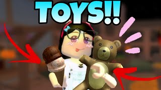 ROBLOX: HOW TO HAVE ICE CREAM, TEDDY and TOYS IN MURDER MYSTERY BY MOBILE 😱!! (Mystery Murder)