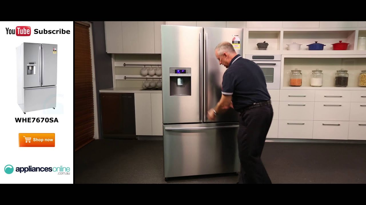 762l Westinghouse 3 Door Fridge Whe7670sa Reviewed By Product Expert