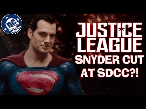 Justice League Snyder Cut coming to SDCC 2018?!