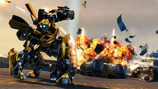 Трансформеры Бамблби против Десептиконов / Transformers Bumblebee vs. Decepticons