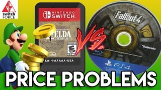 Switch Games Cost MORE Than PS4/XB1/PC (Cartridge vs. Blu Ray)
