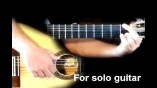 Christina Perri - A Thousand Years (For solo guitar) Learn to play guitar