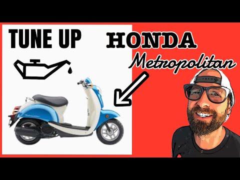Honda Metropolitan TUNE UP / MAINTENANCE