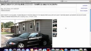 Craigslist Terre Haute Indiana Cars And Trucks