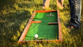 Мини-гольф или офисный гольф в аренду