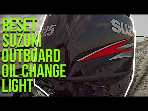 How To Reset Oil Light On Suzuki Outboards (Quick and Simple