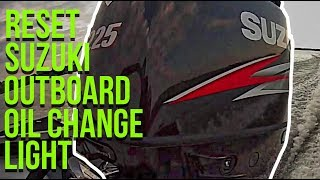 How To Reset Oil Light On Suzuki Outboards (Quick and Simple)