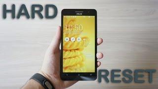 Como Formatar ASUS ZenFone 5 A501 Passo a Passo || Hard Reset, Desbloquear, Problemas G-Tech