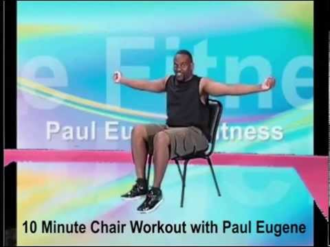 10 Minute Chair Workout