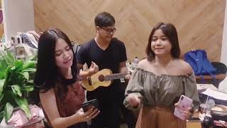 Brisia Jodie Ft Hanggini - Can't Take My Eyes Off You