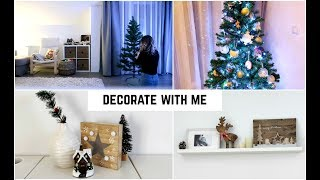 DECORATE WITH ME FOR CHRISTMAS | Home Tour | VLOGMAS
