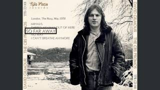 David Gilmour - So Far Away - London (1978)
