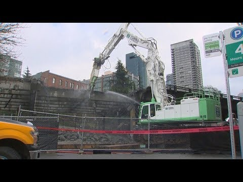 WATCH LIVE: Demolition of Seattle's Alaskan Way Viaduct