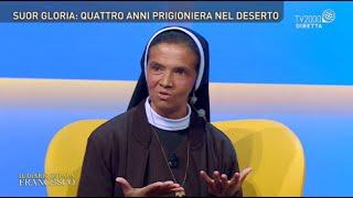 Il Diario di Papa Francesco, 26 ottobre 2021 - Suor Gloria, quattro anni prigioniera nel deserto