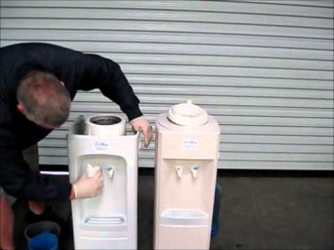 How to clean and sanitize a water cooler