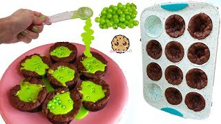 Halloween Candy Chocolate Cauldron Cupcakes  Real Food Baking Cooking Video