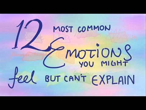 12 эмоций, которые вы можете чувствовать, но не можете объяснить. Psych2Go переведено и озвучено.