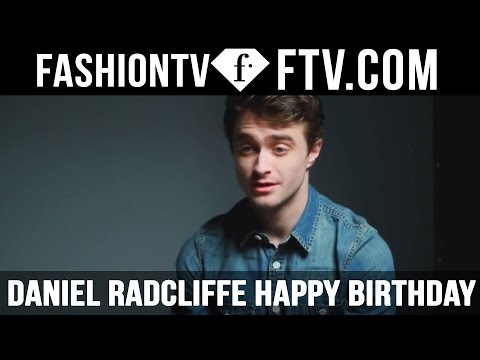 Daniel Radcliffe Happy Birthday - 23 July | FTV.com