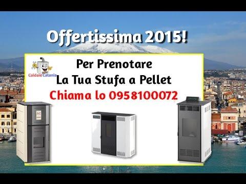 Offerta Stufa Pellet Catania - YouTube