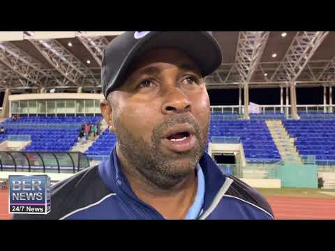 Coach Kyle Lightbourne After Guatemala Game, Oct 2019