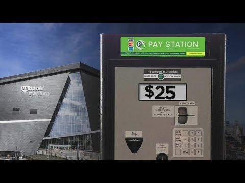 U.S. Bank Stadium Patrons Shocked At Parking Meter Prices