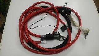 Силовой кабель BMW 5 e39 длина 4 метра с клемами 10304410 Оригинал!(Силовой кабель BMW 5 e39 1030_4410 длина 4 метра с клемами Оригинал! СМОТРИ ВИДЕО ОБЗОР : http://youtu.be/jZxRzY8u6Do Состояние..., 2015-01-12T20:19:25.000Z)