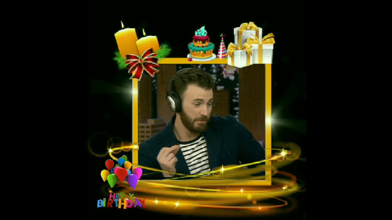 I can do this all day! Happy 40th birthday Chris Evans