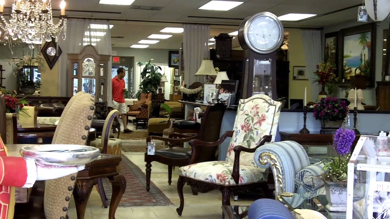 Upscale Furniture Consignment Gallery - Miami, FL - YouTube