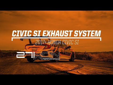 2017+ Civic SI Exhaust (27WON )