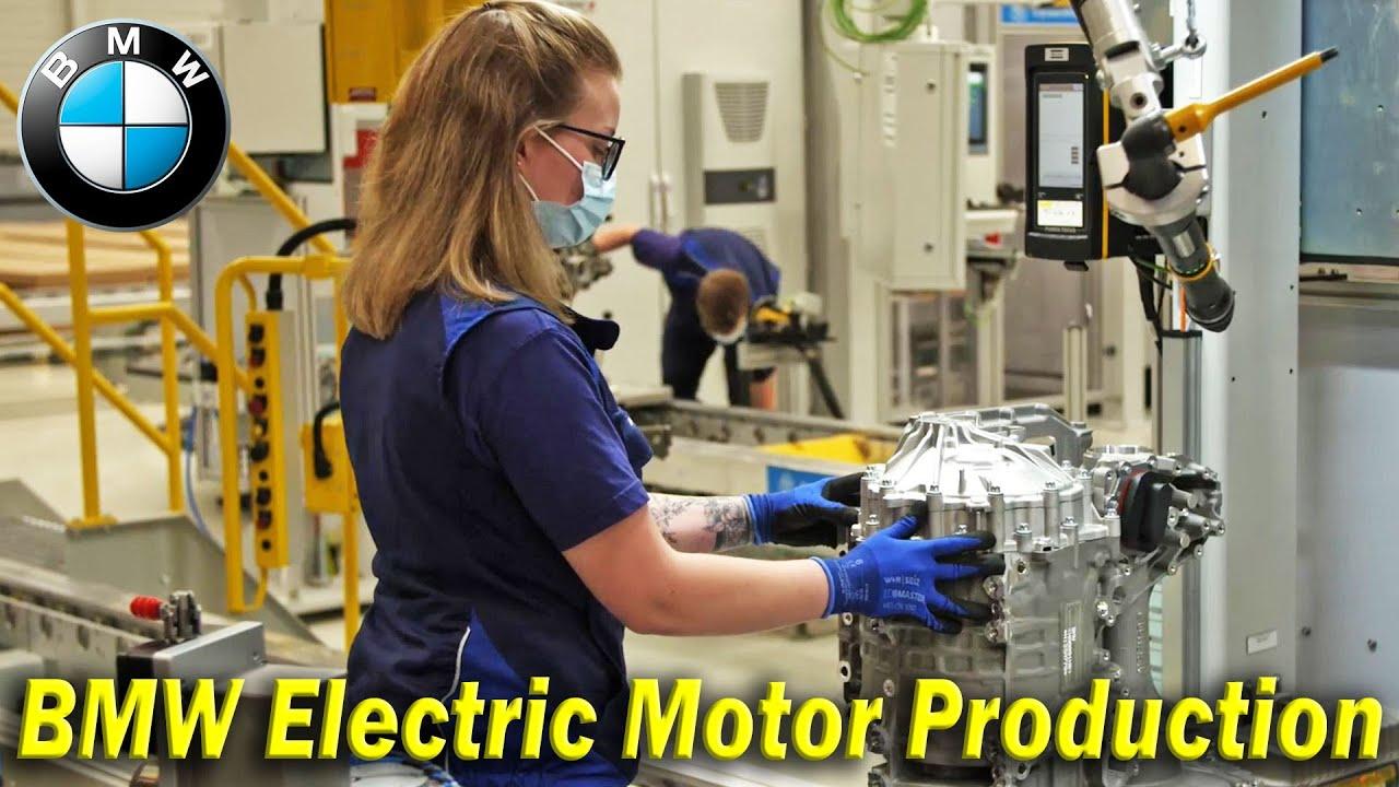 BMW iX3 Drivetrain Production, BMW Electric Motor Production - German Factory Dingolfing