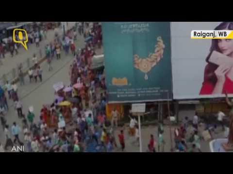 Adivasis Protest Against the Rape of Four Girls in Raiganj